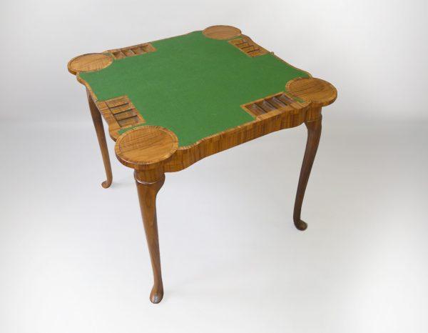 Georgian card table